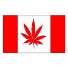 Canadian Weed Decal