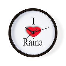 Raina Wall Clock