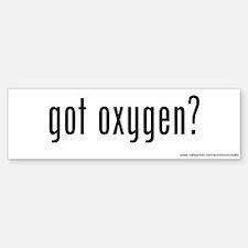Got Oxygen? Bumper Bumper Bumper Sticker