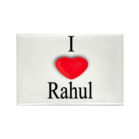 Rahul Rectangle Magnet (10 pack)