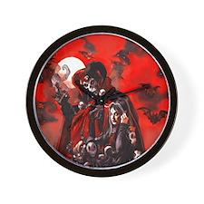 From Dan's Studio- Spooky Nocturnals Wall Clock