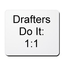 Drafters Mousepad