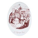 Mr. Fezziwig's Ball Oval Ornament