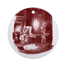 Marley's Ghost Ornament (Round)