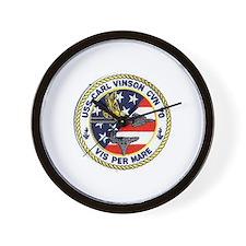 USS Carl Vinson CVN 70 Wall Clock