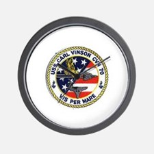 USS Carl Vinson CVN 70 Wall Clock