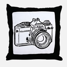 Funny 35mm Throw Pillow