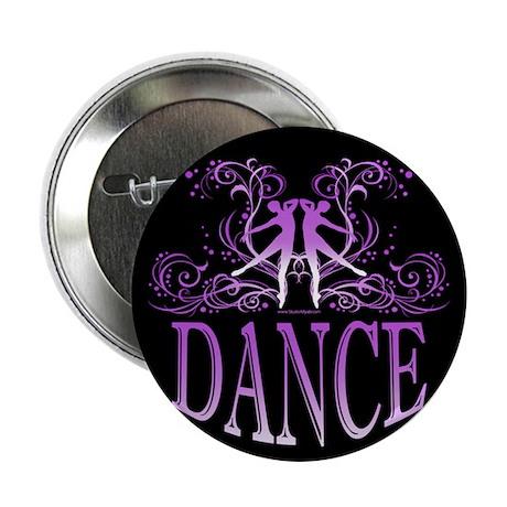 "DANCE (purple) 2.25"" Button"