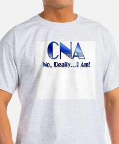 CNA No Really I Am Ash Grey T-Shirt
