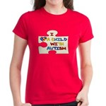 Autism Love Women's Dark T-Shirt