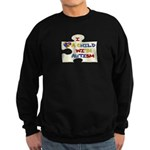 Autism Love Sweatshirt (dark)