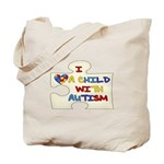 Autism Love Tote Bag