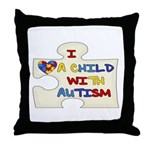 Autism Love Throw Pillow