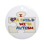 Autism Love Ornament (Round)