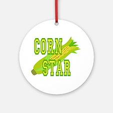 Corn Dog Ornament (Round)