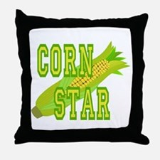 Corn Dog Throw Pillow