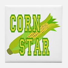 Corn Dog Tile Coaster