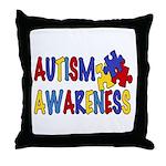 Autism Awareness Throw Pillow