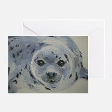 Harp Seal Pup Greeting Card