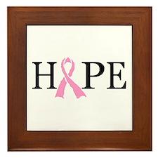 CURE CANCER Framed Tile