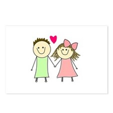 Cute Dating Postcards (Package of 8)