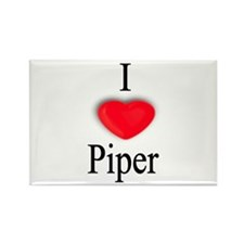 Piper Rectangle Magnet