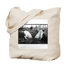GSP Dogs in a Hole Tote Bag