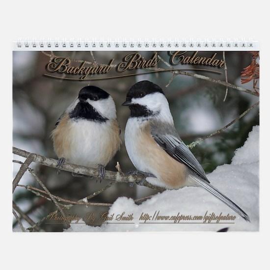 Backyard Birds of Maine Wall Calendar