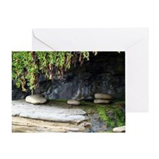 Mossy Cove Greeting Card