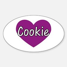 Cookie Oval Decal