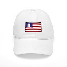 911 WTC Memorial Flag Baseball Cap