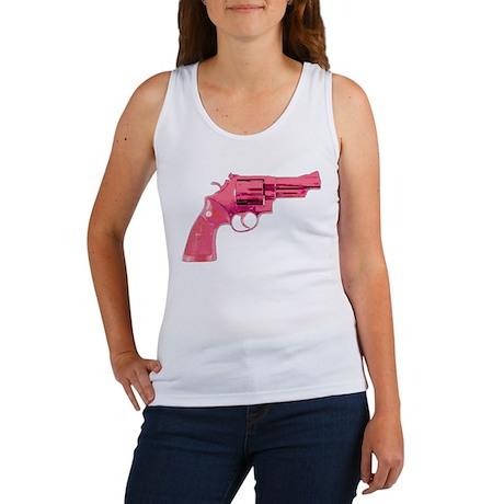 PISTOL PINK Women's Tank Top