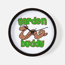 Garden Buddy Wall Clock