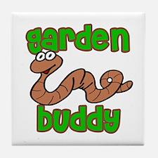 Garden Buddy Tile Coaster