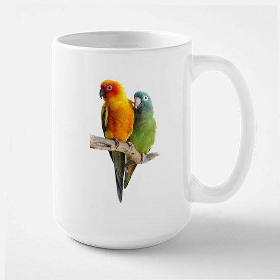 Sun Conure Large Mug