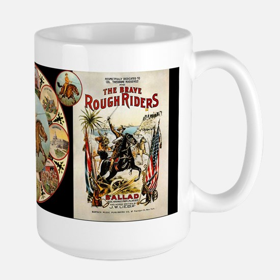 Rough Riders - Large Mug