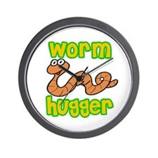 Worm Hugger Wall Clock