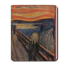 The Scream Mousepad