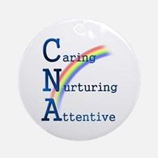 CNA Rainbow Ornament (Round)