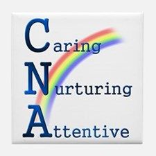 CNA Rainbow Tile Coaster