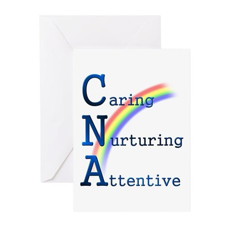 CNA Rainbow Greeting Cards (Pk of 10)
