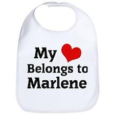 My Heart: Marlene Bib