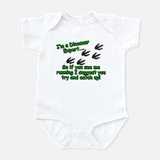 Dinosaur Expert Infant Bodysuit