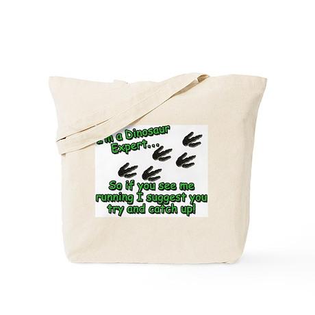 Dinosaur Expert Tote Bag