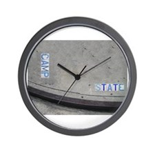 Camp & State St. Wall Clock
