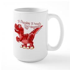 cute dinosaur t-rex Mug