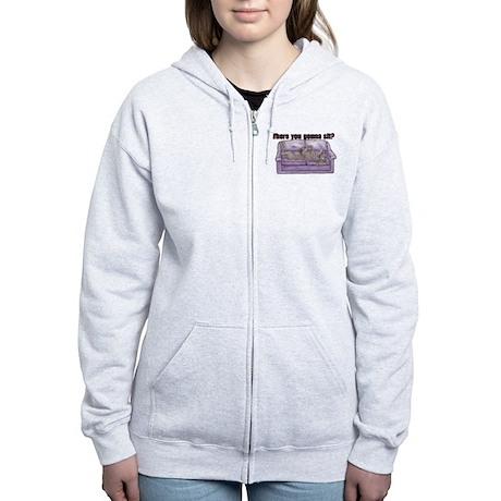 NBlu Where RU Women's Zip Hoodie