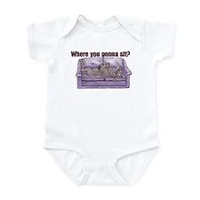 NBlu Where RU Infant Bodysuit