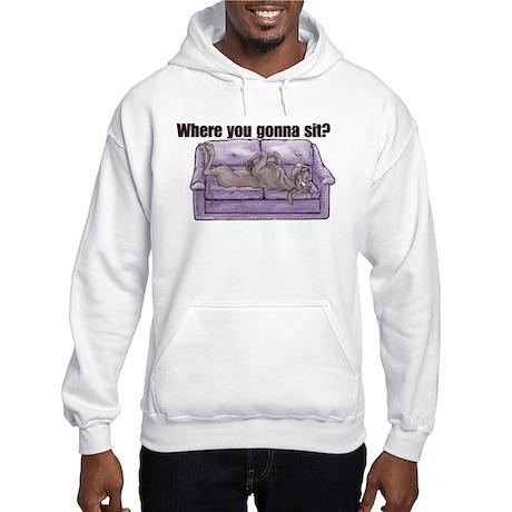 NBlu Where RU Hooded Sweatshirt