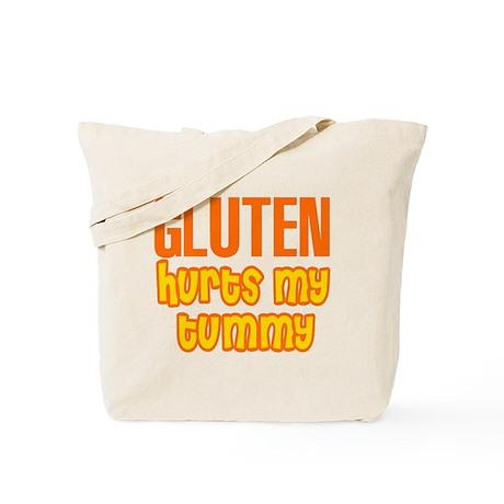 Gluten Hurts My Tummy Tote Bag